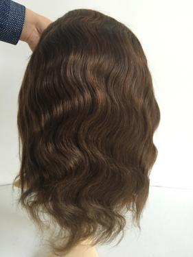#4 body wave silk top 4x4""
